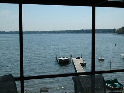 Photo for Beautiful Clear Lake Indiana Contemporary Lakefront Retreat