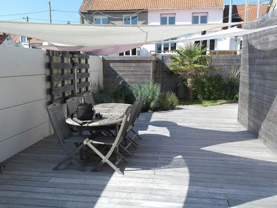Photo for Bright detached house-large terrace/pellet stove-walking distance from the beach