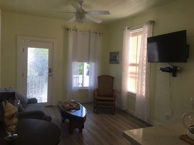 Photo for Cozy Cottage For 2, Walking Distance To The Beach & The Strand