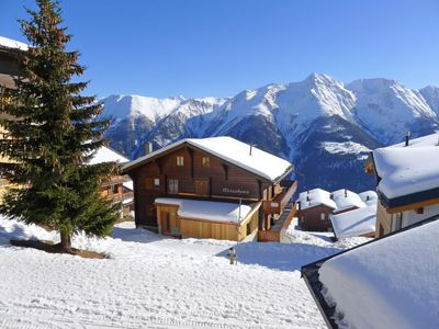Photo for Apartment Weisshorn  in Bettmeralp, Valais - 4 persons, 2 bedrooms