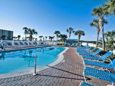 Photo for B3-307  Amazing Gulf Front Condo! Indoor and Outdoor Pools - WIFI -Minutes to local attractions!