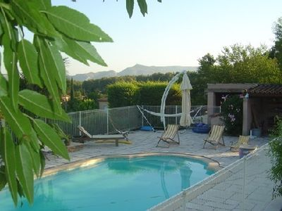 Photo for House very calm, accés SWIMMING POOL, between Cassis and Aix en Provence, clear view
