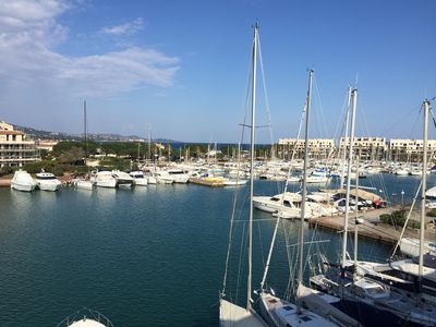 Photo for Apartment 10 people sea view Golf St Tropez