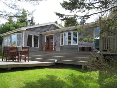 Photo for BAY VIEW 2 BR BUNGALOW IN GREAT BOATING & FISHING LOCALE IN NOVA SCOTIA.