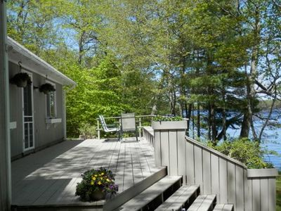 Photo for Lazy Loon Lakefront Cottage
