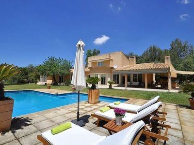 Photo for SA ROTA- Enchanting country house with pool and Tennis Court in Bunyola for families. TV Sat. - Free Wifi