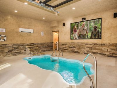 Photo for Free Tickets | Private Pool, Fire-Pit, Grill, Hot Tub, Tesla Charging Station