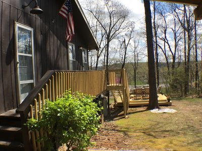 Photo for Grizzly Hill Cabin - Lake Sequoyah View