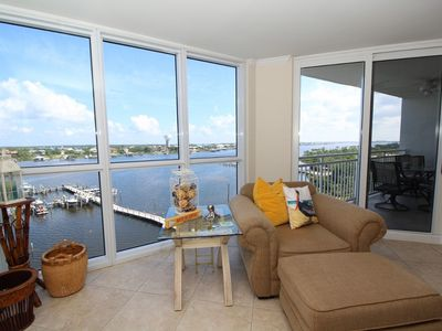 Photo for SeaSpray Riverside 713-  Relaxing views of Ole River AND Gulf access!