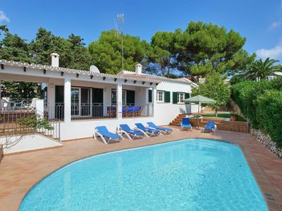 Photo for 4 bedroom Villa, sleeps 9 in Binibèquer Vell with Pool, Air Con and WiFi