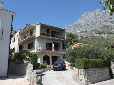 Photo for Three bedroom apartment with terrace and sea view Krvavica (Makarska)