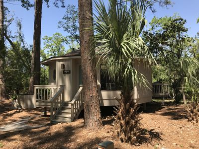 Photo for Gypsy Getaway - Quiet Oasis - One Bedroom Cottage New To The Rental Market