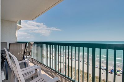 Oceanfront Balcony Seating