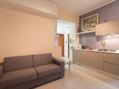 Photo for The Vatican's Courtyard - Beautiful apartment just steps from the Vatican Museums