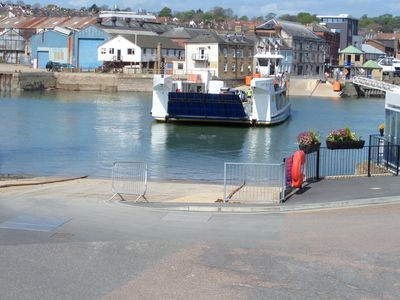 Photo for Chapel house with stunning views over Cowes harbour, pet friendly
