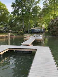 Photo for Cozy, Secluded Cottage With Great Views of Lake Norman - Right On The Water
