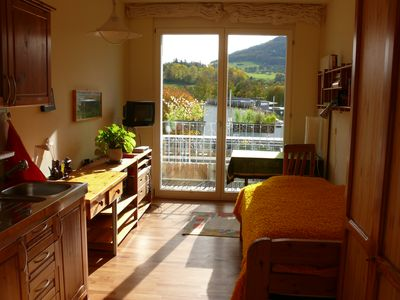 Photo for small, separate, autonomous apartment for one person in Freiburg-Süd