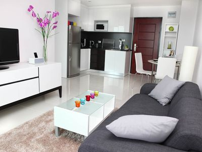Photo for 1BR Apartment Vacation Rental in Pattaya, Chonburi