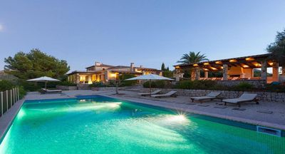 Photo for Can Iroca - Rustic, Secluded Villa With Stunning Panoramic Views and Private Pool