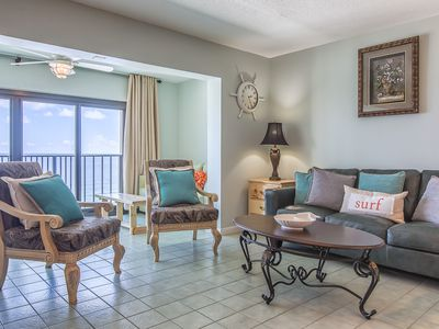 Photo for Fantastic Rates! BOOK NOW*Sleeps 8*Renovated Corner Unit! Gulf Tower 11D
