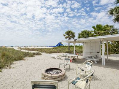 Photo for Seahorse Cottage 1, 1 Bedroom, Beach Front, WiFi, Fire Pit, Grill, Sleeps 4