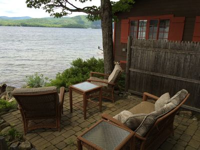 Photo for Peace and Serenity Await You at this Lakeside Cottage on Beautiful Newfound Lake