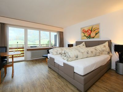 Photo for Leukerbad Apartment, Sleeps 2 with WiFi