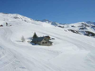 Photo for Maxi studio 4/5 pers at SIRAC A2 resort center in Orcières Merlette - Southern Alps