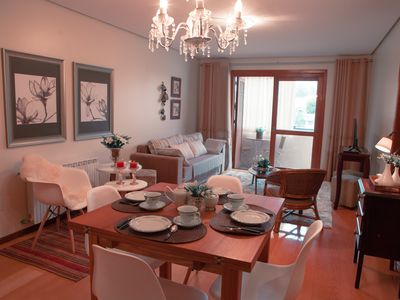 Photo for LOVELY APARTMENT FURNISHED AND DECORATED in the center of Gramado
