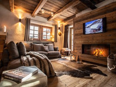 Photo for Maison Bianca is a Luxury Ski Chalet a 4 minutes drive to the lift system of Valtournenche (1km)