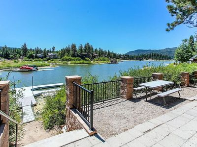 Photo for Breezy Two Ultra Relaxing Lakeside 3 BR Near Town