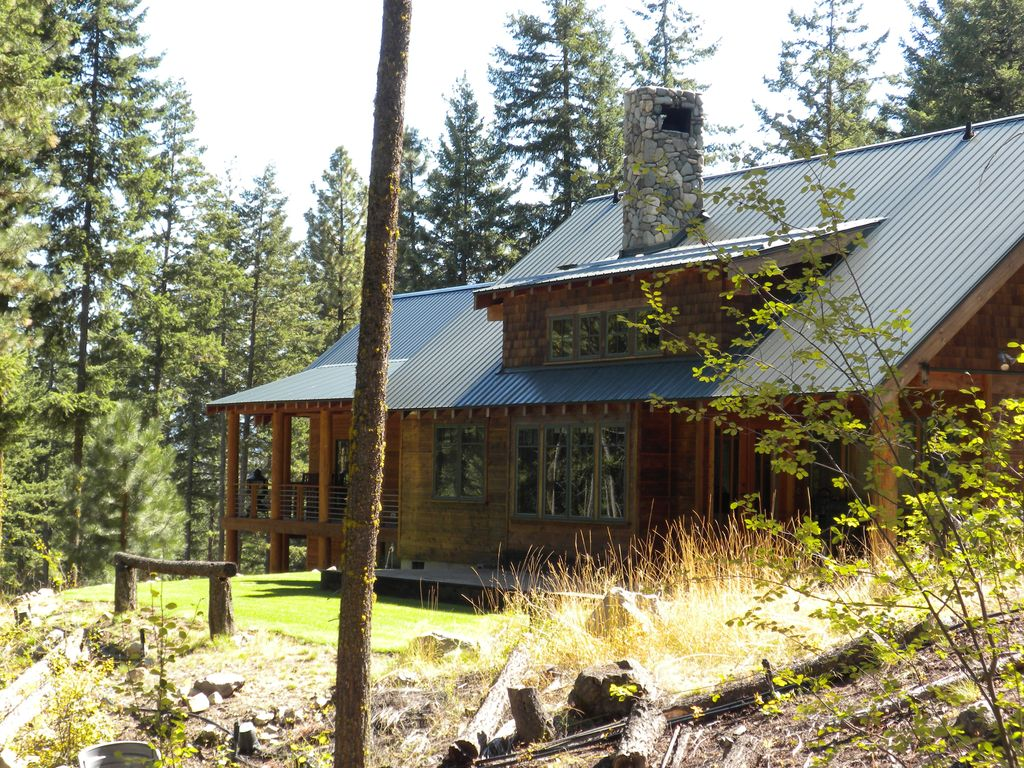 Delightful cabin in the woods winthrop north cascades for Winthrop cabin rentals