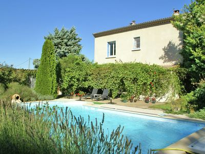Photo for Holiday home near Avignon and Arles, with private swimming pool and garden