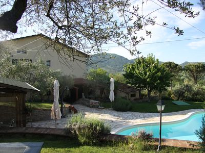 Photo for Lovely holiday house: private swimming pool, olive tree garden, cultural setting
