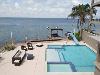 """Photo for """"On the Bay Delight"""",   Private Waterfront Home on the Bay"""