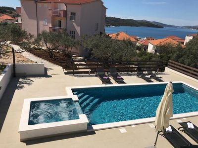 Photo for Villa Dolac - APARTMENTS Vujic in Okrug Gornji, 3 km from Trogir