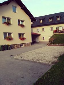 Photo for Apartment 18 m from the center of Bled with Internet, Parking, Terrace, Washing machine (406279)
