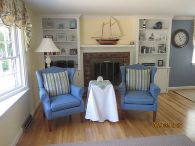 Photo for 49 Uncle Bill's Way: 3BR /1.5 BA, Central A/C, 4 mi to beach! Linens Included!