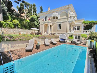 Photo for CAP D'AIL- NEAR MONACO VILLA 350m² 6 Bedrooms Pool