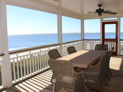 Photo for Phenomenal, 5-Star Oceanfront Home! Totally Renovated! On the Beach!