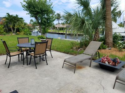 Photo for Quaint Canal Front Home 2 miles from the Beach