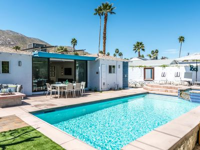 Photo for Old Blue Eyes: 2  BR, 3  BA House in Palm Springs, Sleeps 4
