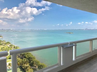 Photo for Wonderful View of Biscayne Bay!!  Miami-The Grand