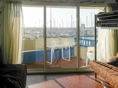 Photo for Studio with terrace, 4 people, sea view, fully equipped