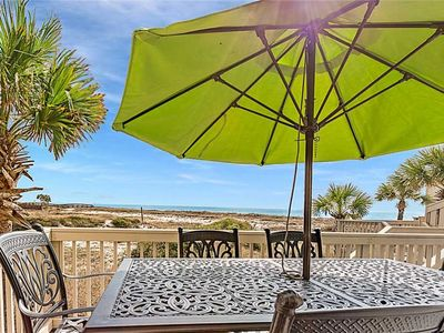 Photo for Beach side bungalow, just steps from the Gulf