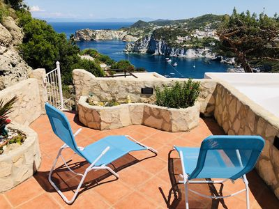 Photo for Casa Belvedere Ponza with Suggestive sea view Perfect for Relaxation