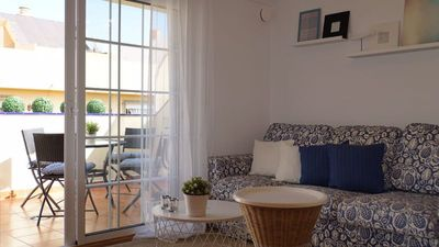 Photo for Feel Fuengirola from an attic: beautiful views and terrace 250 m from the sea!