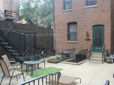 Photo for PRIVATE Paradise w/ yard | Downtown River North Chicago 2BR
