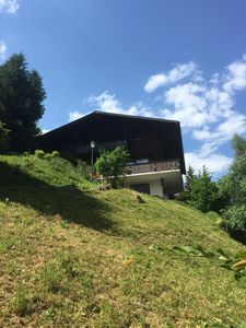 Photo for Charming family-style Chalet with full view of the Rinderberg