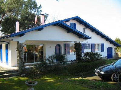 Photo for Basque-Landes villa with private pool 5 minutes from the beaches